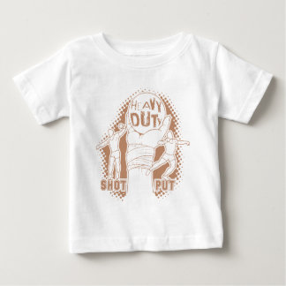 Heavy duty – shot put baby T-Shirt
