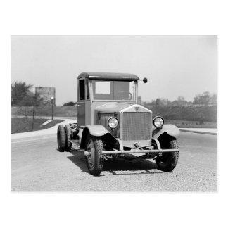 Heavy Duty Truck, 1925 Postcard