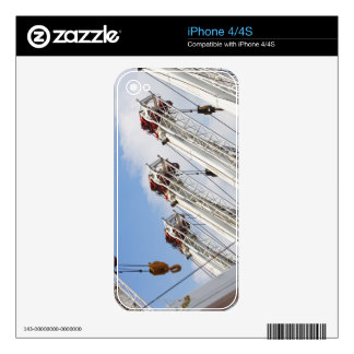 Heavy equipment decals for the iPhone 4S