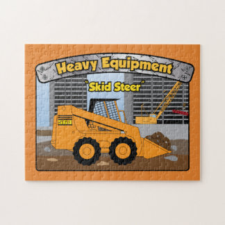 Heavy Equipment Skid Steer puzzle