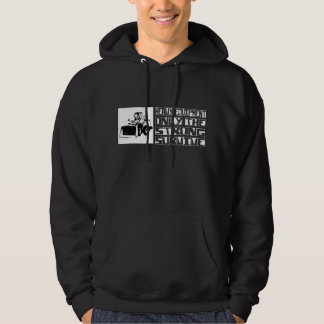 Heavy Equipment Survive Hooded Sweatshirt
