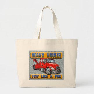Heavy Hauler Tow Truck Canvas Bags