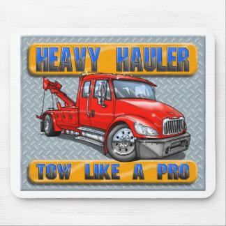 Heavy Hauler Tow Truck Mousepad