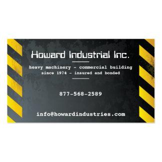 Heavy Hazards Business Card Template