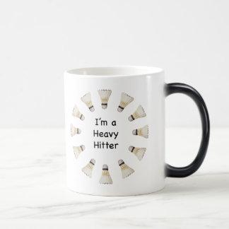 Heavy Hitter Badminton 11 Oz Magic Heat Color-Changing Coffee Mug