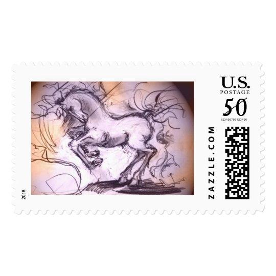 Heavy horse postage