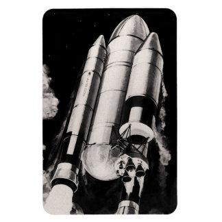 Heavy Lift Launch Vehicle Concept Rectangular Photo Magnet