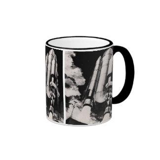 Heavy Lift Launch Vehicle Concept Ringer Coffee Mug