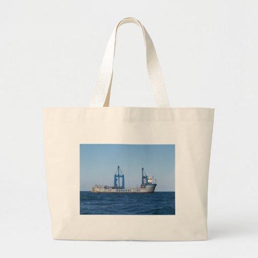Heavy Lifting Vessel MV Lilleborg Canvas Bag