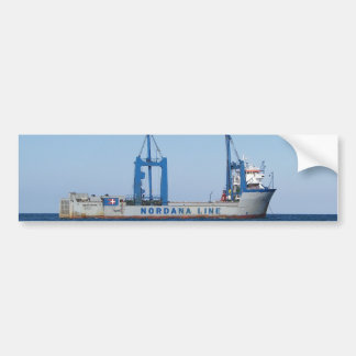 Heavy Lifting Vessel MV Lilleborg Bumper Stickers