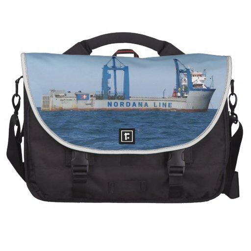 Heavy Lifting Vessel MV Lilleborg Laptop Bag