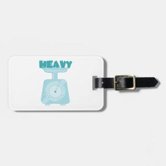 Heavy Bag Tag