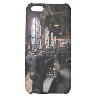 Heavy Machine Shop With Lamps iPhone 5C Case