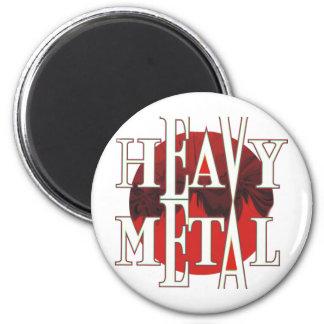 Heavy Metal 2 Inch Round Magnet