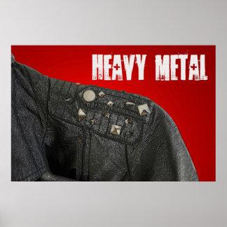 Heavy Metal 36 x 24 Poster