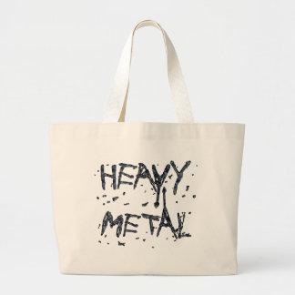 HEAVY METAL CANVAS BAG