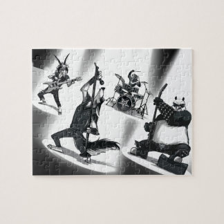 Heavy Metal Band Jigsaw Puzzle