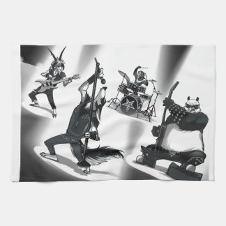 Heavy Metal Band Kitchen Towels