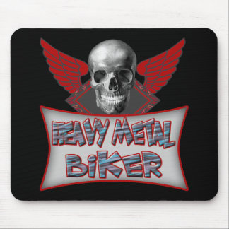 Heavy Metal Biker T shirts Gifts Mouse Pad