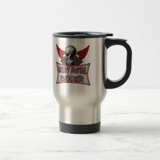 Heavy Metal Biker T shirts Gifts 15 Oz Stainless Steel Travel Mug