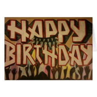 heavy metal cards  zazzle, Birthday card