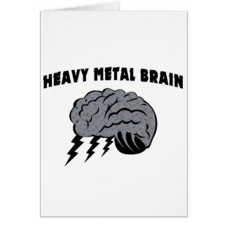 Heavy Metal Brain Card