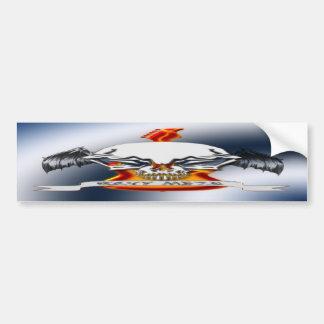 Heavy Metal Bumper Sticker