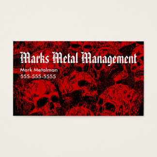 Heavy Metal Business Card