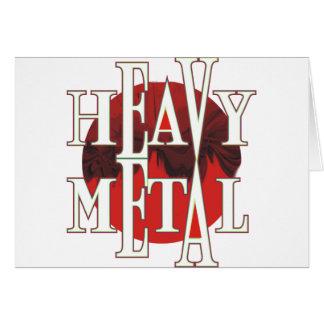 Heavy Metal Card