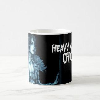 Heavy Metal Chick Classic White Coffee Mug