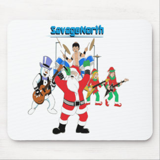 Heavy Metal Christmas Mouse Pads