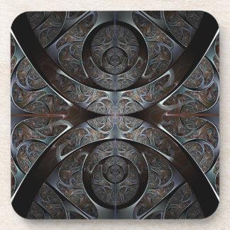 Heavy metal Cork Coaster