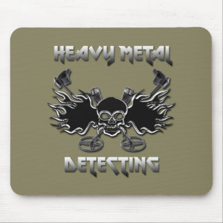 Heavy Metal Detecting Mouse Pad