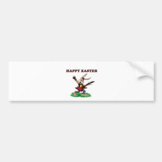 Heavy Metal Easter Bunny Bumper Stickers