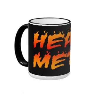 Heavy Metal Fire Mug