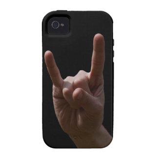heavy metal iPhone 4/4S funda