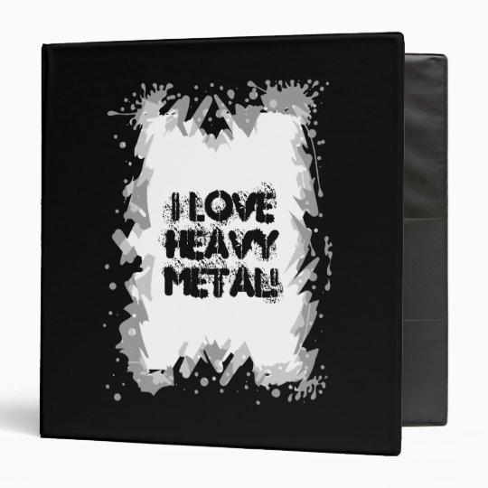 Heavy Metal Grunge Rock Design Binder
