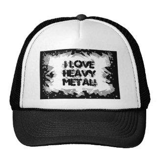 Heavy Metal Grunge Rock Design Hat