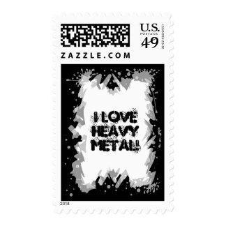 Heavy Metal Grunge Rock Design Stamps