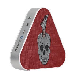 Heavy Metal Guitar Skull Bluetooth Speaker