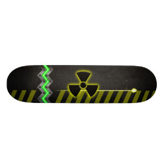 Heavy Metal Hazard Skateboard