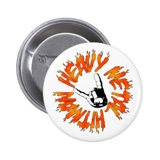 Heavy Metal Hitman Flame Button