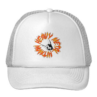 Heavy Metal Hitman Flame Hat