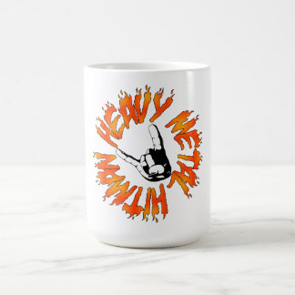 Heavy Metal Hitman Flame Mug