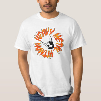 Heavy Metal Hitman Flame Shirt
