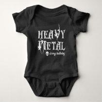 Heavy Metal is My Lullaby Baby Bodysuit