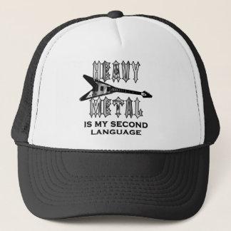Heavy Metal  is my second language Trucker Hat
