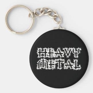 Heavy Metal Keychain