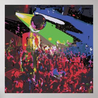 Heavy Metal Lover Disco Poster