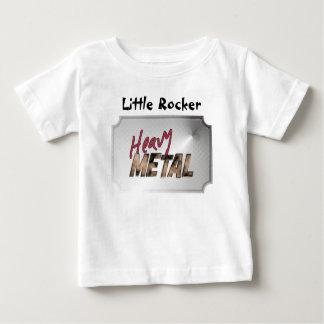 Heavy Metal metallic design Baby T-Shirt